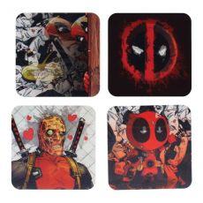 Deadpool Lenticular Podtácky 4-Pack