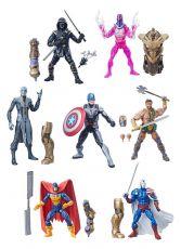 Marvel Legends Series Akční Figures 15 cm Avengers 2019 Wave 1 Sada (8)