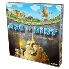 Age of Dirt: A Game of Uncivilization Board Game Anglická Verze