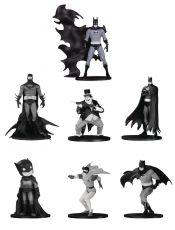 Batman Black & White PVC Minifigure 7-Pack Box Set #4 10 cm