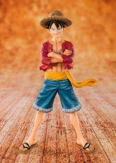 One Piece FiguartsZERO PVC Soška Straw Hat Luffy 14 cm