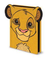 The Lion King Premium Poznámkový Blok A5 Simba Furry