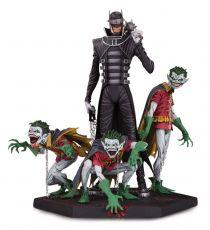 Dark Nights Metal Deluxe Soška Batman Who Laughs & Robin Mimoni 21 cm