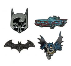 DC Comics Collectors Pins 4-Pack Batman
