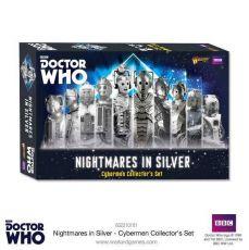Doctor Who Exterminate! Miniatures Nightmares in Silver Cybermen Collectors Set Anglická Verze