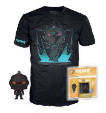 Fortnite Pocket POP! & Tee Box Black Knight   Velikost XL