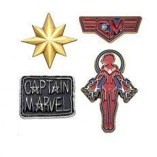 Marvel Collectors Pins 4-Pack Captain Marvel