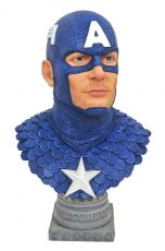 Marvel Comics Legends in 3D Bysta 1/2 Captain America 25 cm
