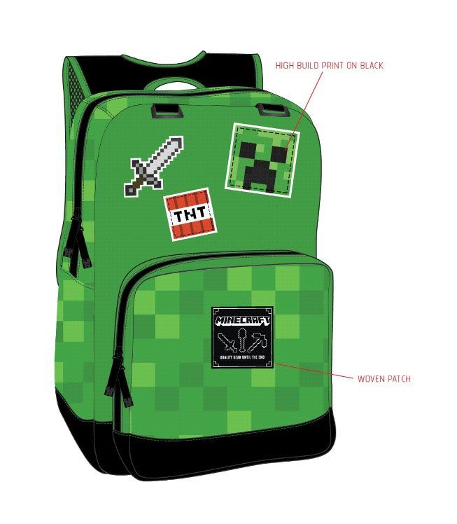 5f89756087 Minecraft Batoh Survival J!NX