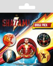 Shazam! Pin Placky 5-Pack Power