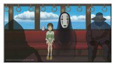 Studio Ghibli Wooden Nástěnná Art Spirited Away 37,5 x 20,5 cm