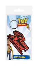 Toy Story 4 Gumový Keychain Pizza Planet 6 cm