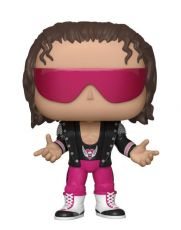 WWE POP! vinylová Figure Bret Hart with Bunda 9 cm