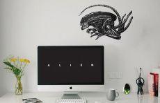 Alien Nástěnná Nálepka Set