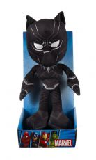 Marvel Avengers Plyšák Figure Black Panther 25 cm