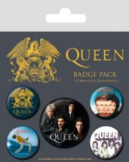 Queen Pin Placky 5-Pack Classic