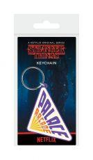 Stranger Things Gumový Keychain Palace Arcade 6 cm