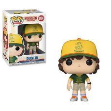 Stranger Things POP! TV vinylová Figure Dustin (At Camp) 9 cm