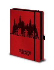 Stranger Things Premium Poznámkový Blok A5 Upside Down