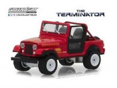 Terminator Kov. Model 1/18 1983 Jeep CJ-7 Renegade with Figure