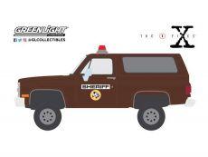 The Akta X Kov. Model 1/64 1981 Chevrolet K-5 Blazer Sheriff