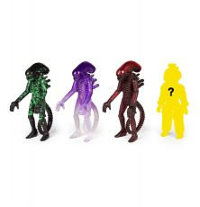Alien ReAction Akční Figures 10 cm Blind Box Wave 3 Display (12)