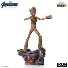 Avengers: Endgame BDS Art Scale Soška 1/10 Groot 24 cm