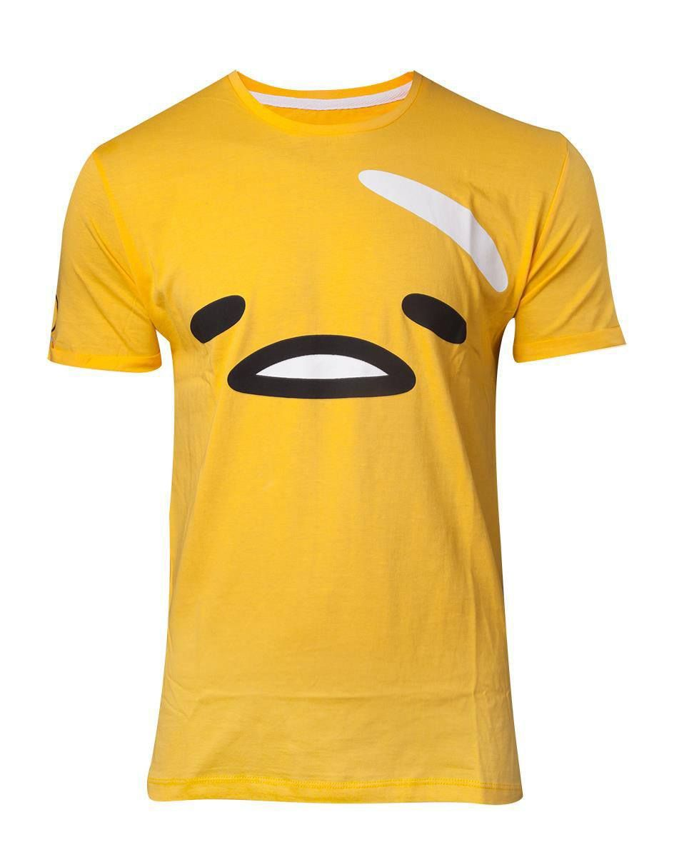 Gudetama, the Lazy Egg Tričko The Face Velikost XL Difuzed
