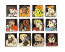 Street Fighter 12-Pack Pin Placky Characters