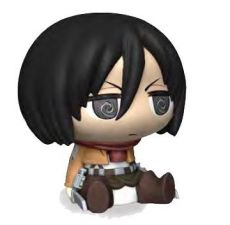 Attack on Titan Chibi Bysta Pokladnička Mikasa 16 cm