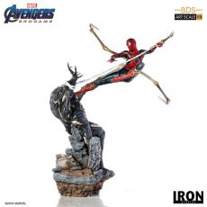Avengers: Endgame BDS Art Scale Soška 1/10 Iron Spider vs Outrider 36 cm