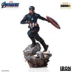 Avengers: Endgame Deluxe BDS Art Scale Soška 1/10 Captain America 21 cm