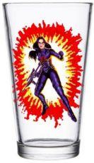 G.I. Joe Skleněná Pinta Glass Baroness