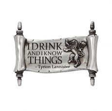 Game of Thrones Magnet I Drink And I Know Things