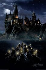 Harry Potter Plakát Pack Bradavice Boats 61 x 91 cm