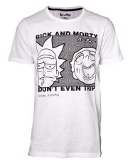Rick and Morty Tričko Don't Even Trip Velikost M