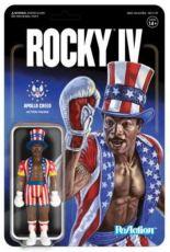 Rocky 4 ReAction Akční Figure Apollo Creed 10 cm