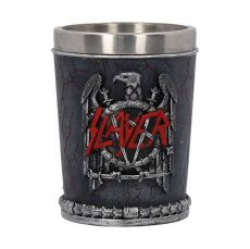 Slayer Shot Glass Eagle Logo