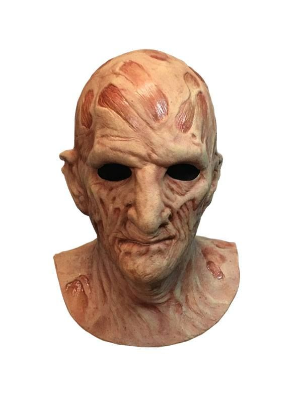 A Nightmare on Elm Street 2: Freddy's Revenge Deluxe Latex Mask Freddy Krueger Trick Or Treat Studios