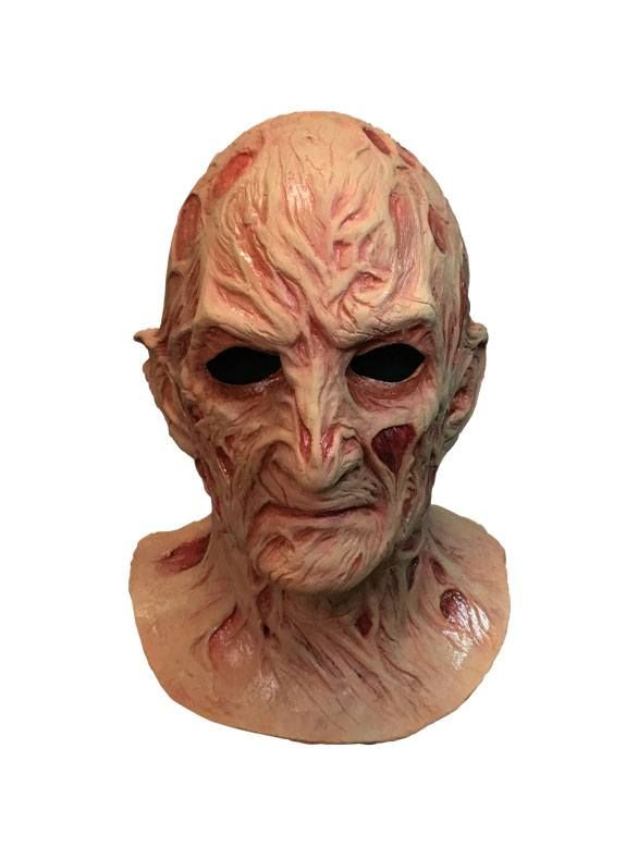 A Nightmare on Elm Street 4: The Dream Master Deluxe Latex Mask Freddy Krueger Trick Or Treat Studios