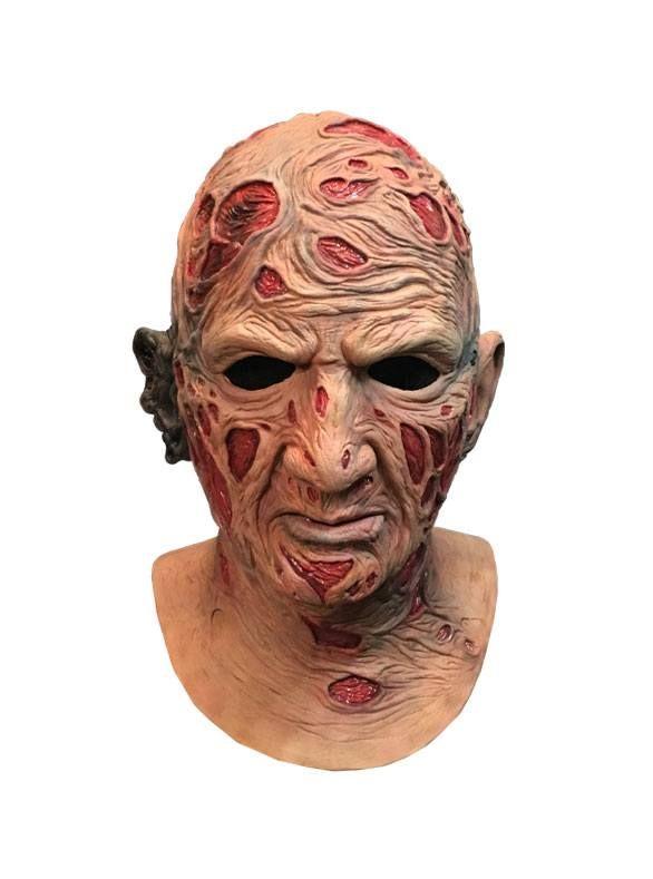 A Nightmare On Elm Street Deluxe Latex Mask Freddy Krueger Trick Or Treat Studios