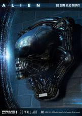 Alien 3D Nástěnná Art Big Chap Head Trophy 58 cm