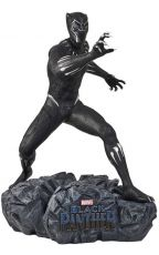 Black Panther Životní Velikost Soška Black Panther 175 cm