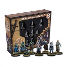 Critical Role Miniatures 8-pack Mighty Nein Anglická Verze