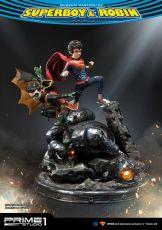 DC Comics Soška 1/3 Superboy & Robin 64 cm