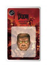 Doom Pin Odznak Face