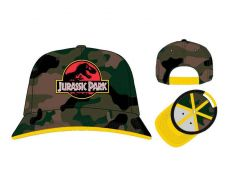 Jurassic Park Baseballová Kšiltovka Logo Camo