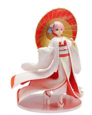 Re:ZERO -Starting Life in Another World- PVC Soška 1/7 Ram -Shiromuku- 24 cm