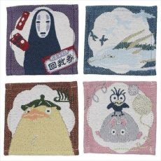Spirited Away Podtácky 4-Pack Characters