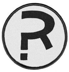 The Umbrella Academy Patch The Rumor R Logo 6 cm